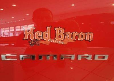 Red baron graphics logo