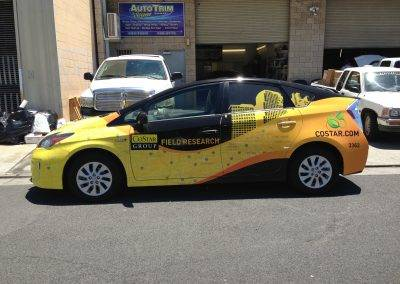 CoStar Group Prius wrap